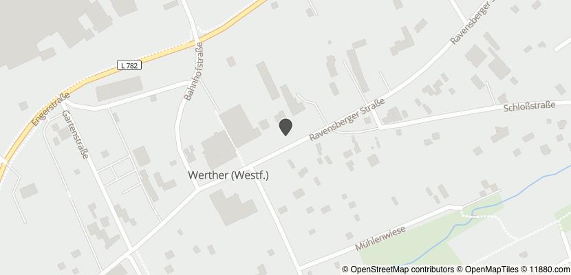 Auf Stadtplan Werther, Westfalen anzeigen
