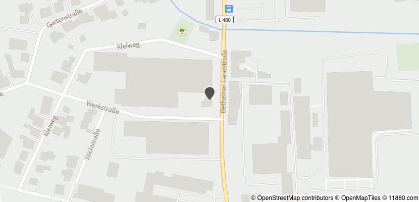 Auf Stadtplan Gronau, Leine anzeigen