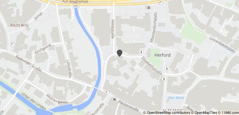 Auf Stadtplan Herford anzeigen