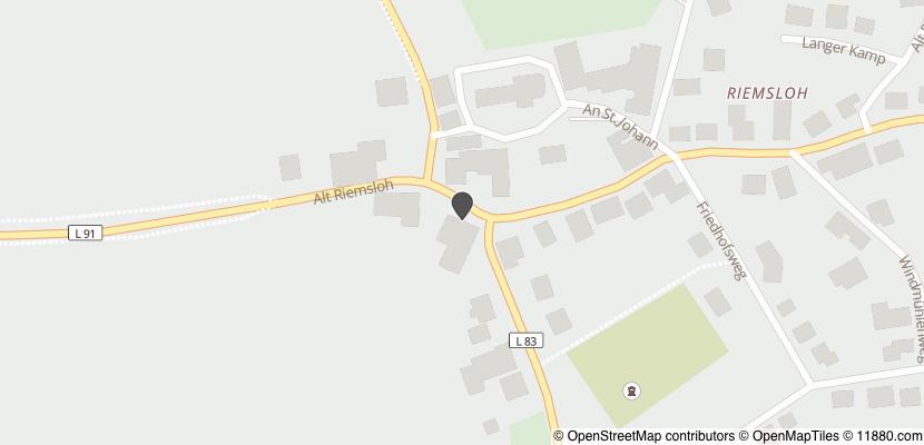 Auf Stadtplan Melle, Wiehengebirge anzeigen