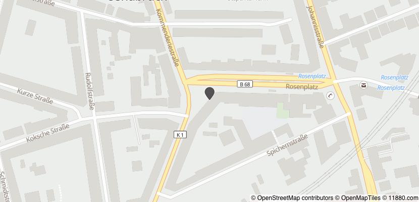 Auf Stadtplan Osnabrück anzeigen