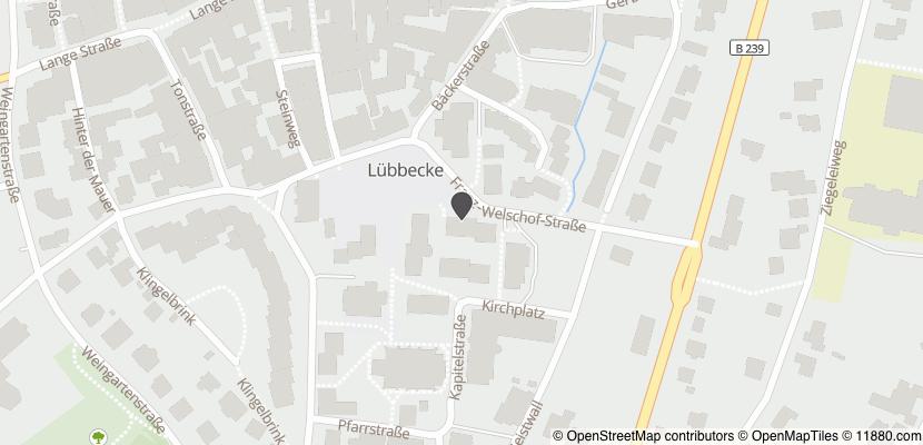 Auf Stadtplan Lübbecke, Westfalen anzeigen