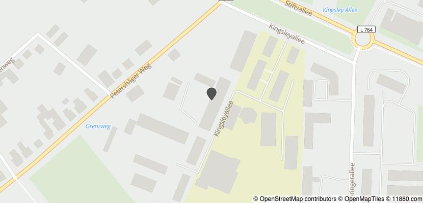 Auf Stadtplan Minden, Westfalen anzeigen