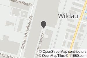 Auf Stadtplan Wildau bei Königs Wusterhausen anzeigen