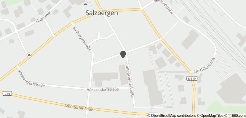 Auf Stadtplan Salzbergen anzeigen