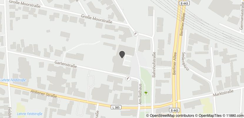 Auf Stadtplan Lehrte bei Hannover anzeigen
