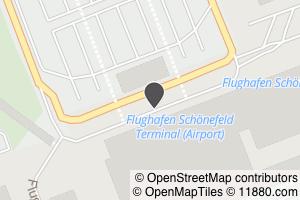 Auf Stadtplan Schönefeld bei Berlin anzeigen