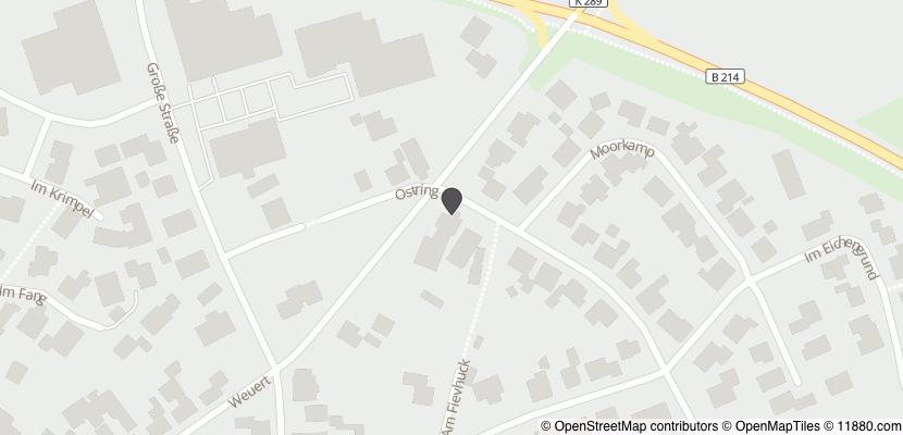 Auf Stadtplan Steinfeld, Oldenburg anzeigen
