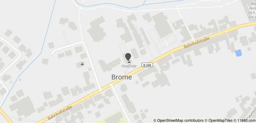 Auf Stadtplan Brome, Niedersachsen anzeigen