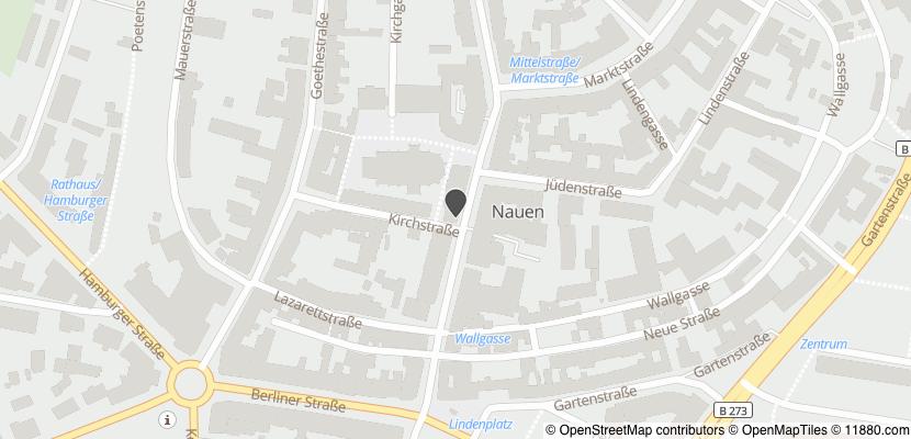 Auf Stadtplan Nauen, Havelland anzeigen