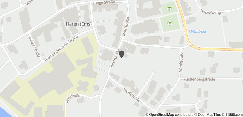 Auf Stadtplan Haren, Ems anzeigen