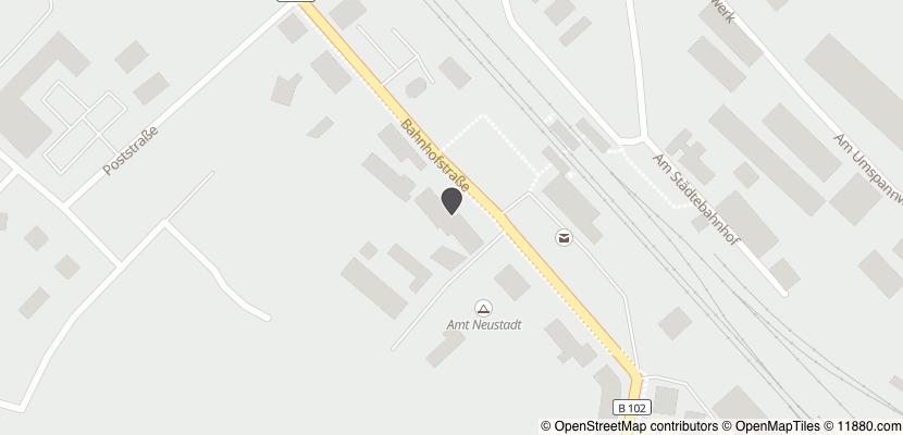 Auf Stadtplan Neustadt, Dosse anzeigen