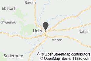 Auf Stadtplan Uelzen, Lüneburger Heide anzeigen