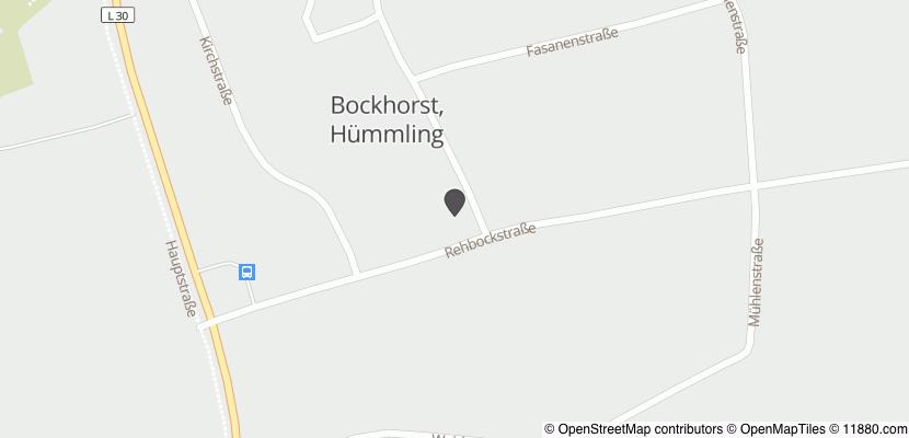 Auf Stadtplan Bockhorst, Hümmling anzeigen
