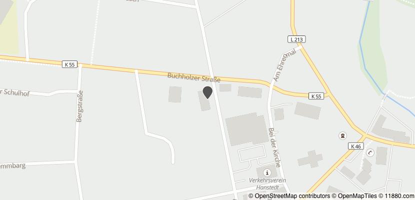 Auf Stadtplan Hanstedt, Nordheide anzeigen