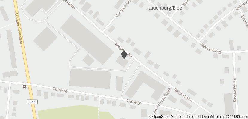 Auf Stadtplan Lauenburg, Elbe anzeigen