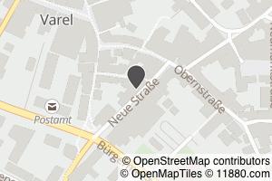 Auf Stadtplan Varel, Jadebusen anzeigen