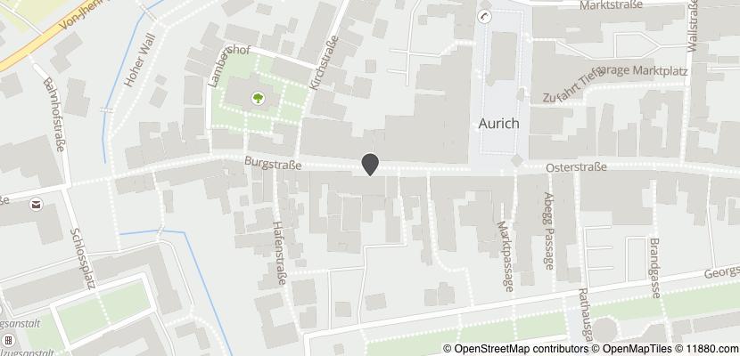 Auf Stadtplan Aurich, Ostfriesland anzeigen