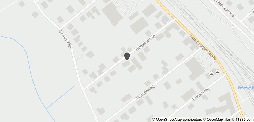 Auf Stadtplan Büchen, Kreis Herzogtum Lauenburg anzeigen