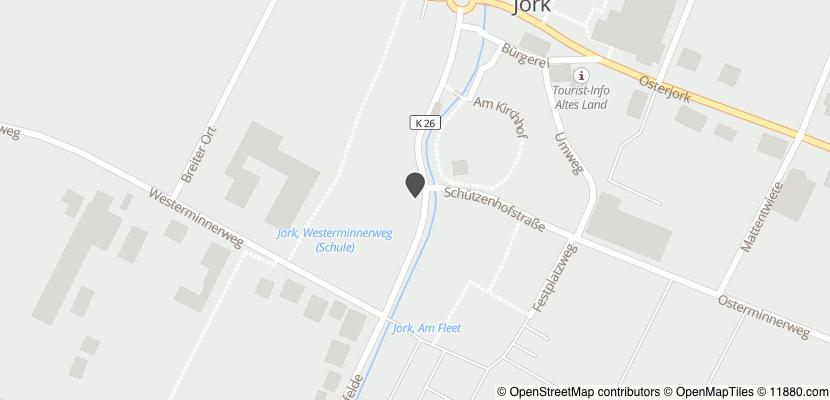 Auf Stadtplan Jork, Niederelbe anzeigen