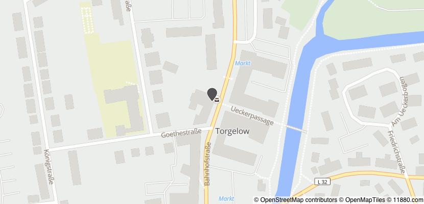 Auf Stadtplan Torgelow, Vorpommern anzeigen