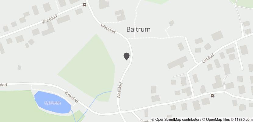 Auf Stadtplan Baltrum anzeigen