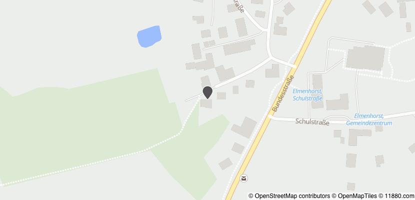 Auf Stadtplan Elmenhorst, Kreis Stormarn anzeigen
