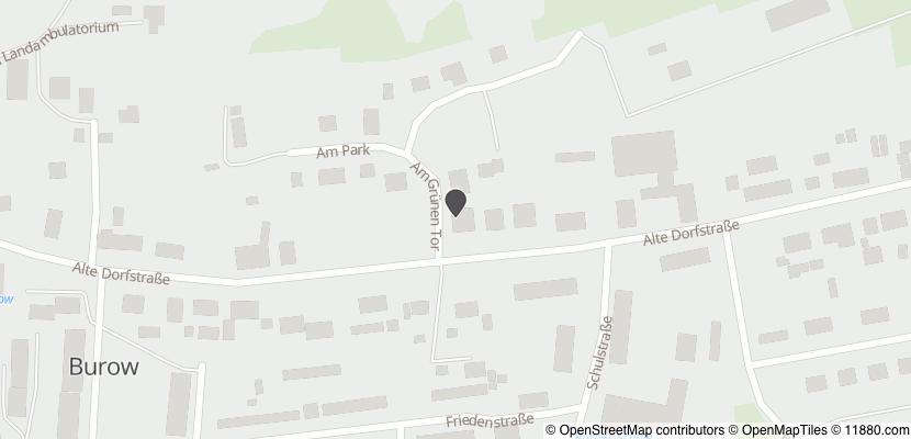 Auf Stadtplan Burow bei Altentreptow anzeigen