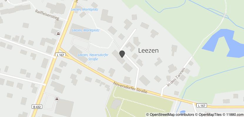 Auf Stadtplan Leezen, Schleswig-Holstein anzeigen