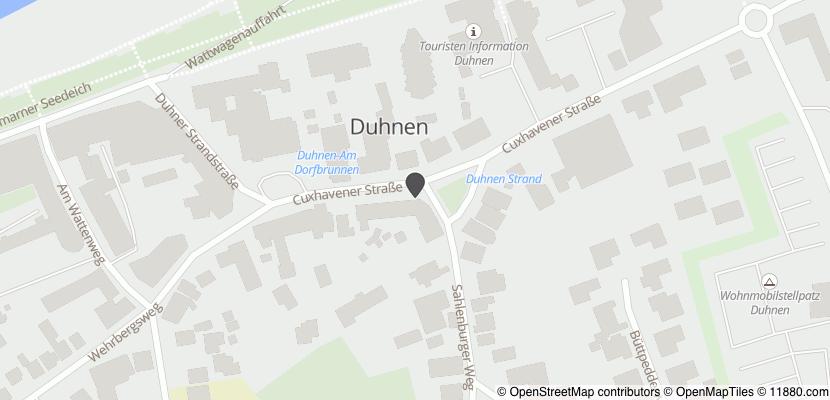 Auf Stadtplan Cuxhaven anzeigen