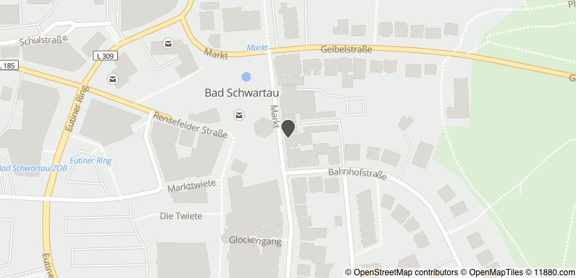 Auf Stadtplan Bad Schwartau anzeigen