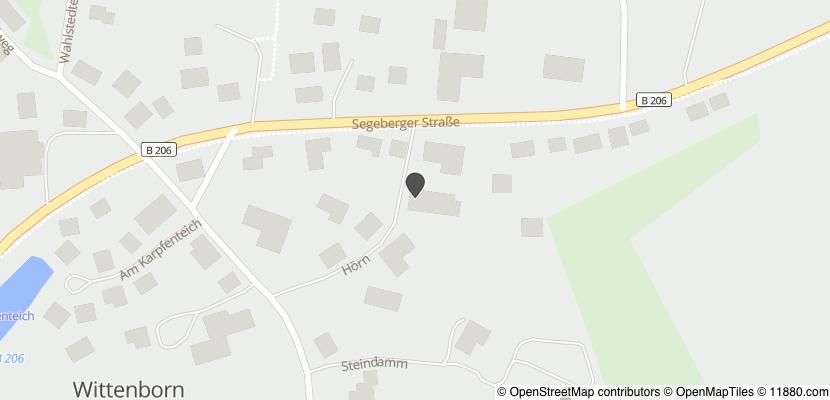 Auf Stadtplan Wittenborn, Kreis Segeberg anzeigen