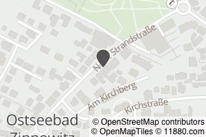 Auf Stadtplan Zinnowitz, Ostseebad anzeigen
