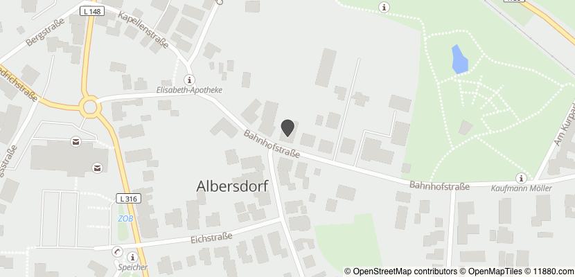 Auf Stadtplan Albersdorf, Holstein anzeigen