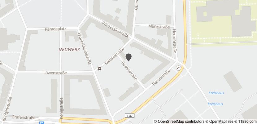 Auf Stadtplan Rendsburg anzeigen